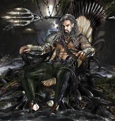 B v S- Aquaman character poster by binbynku