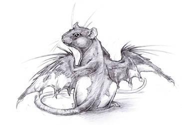 Little Mouseangel Jo by drachenmagier