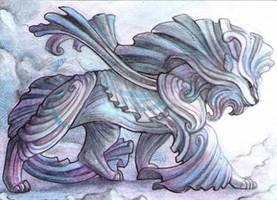 ACEO - Clothbeast by drachenmagier