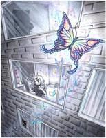 always follow butterflies by drachenmagier