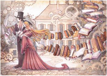 Steampunk Wedding Gift by drachenmagier