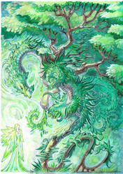 Forest council by drachenmagier