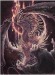 Abyssal Fire Dragon by drachenmagier