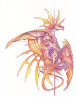 Poledance Dragon by drachenmagier