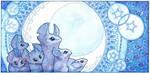 moon mice by drachenmagier