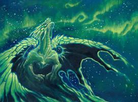Aurora Borealis by drachenmagier