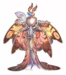 commission - moth by drachenmagier