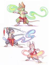 chakra mice by drachenmagier