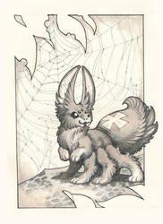 Inktober Redux 17: Rabbit by drachenmagier