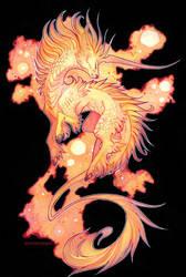 space unicorn by drachenmagier