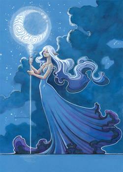 moon rise by drachenmagier