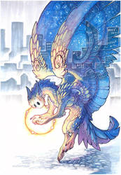 city guardian II by drachenmagier