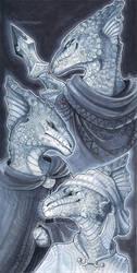 Earthdawn - three sisters by drachenmagier