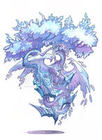 crystal bonsai by drachenmagier