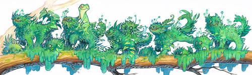 mossters by drachenmagier