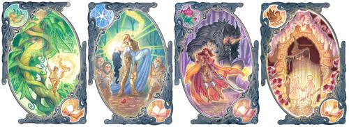 Fairest Trilogy - (some) Chapter Illustrations by drachenmagier