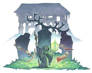 Fairest Trilogy - Swamp Witch by drachenmagier