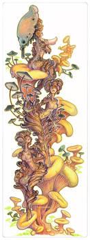 mushroom fairies by drachenmagier