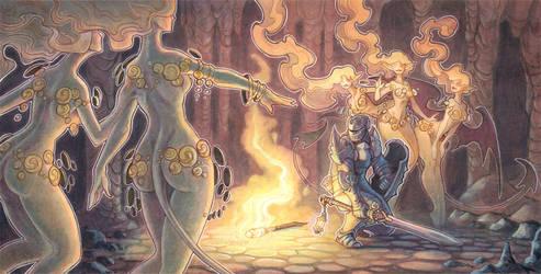 A Murder Of Succubi by drachenmagier