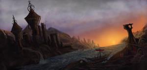 Redoran outpost - Morrowind by Jurko-S