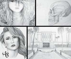 Drawing Collage by AshleyDesignSmith
