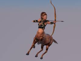 redone centaur bow by lasserine
