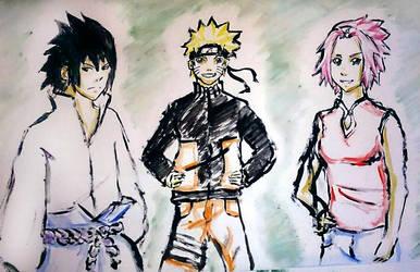 Team 7 watercolour by RafiX14