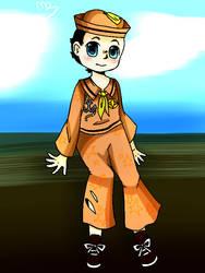 Josuke sketch by Trico-yuuya