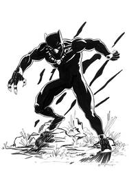 The Black Panther by Doofball3