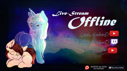 Welcome to my page ~ Livestream Offline by LittleAmberd