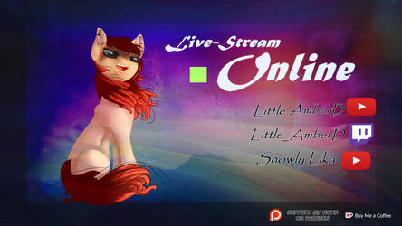 Welcome to my page ~ Livestream Online by LittleAmberd