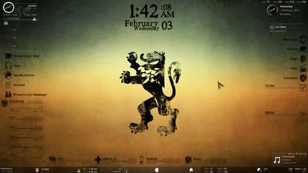 My Desktop 2010 by Icewiing