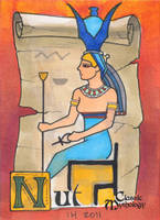 Nut Sketch Card - Ingrid Hardy by Pernastudios