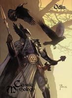 Odin Base Card Art - Richard Pace by Pernastudios