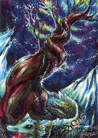 Yggdrasil Sketch Card - Hanie Mohd by Pernastudios