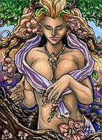 Gaia Sketch Card - Lynne Anderson by Pernastudios