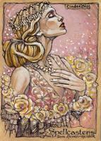 Spellcasters Sketch Card - Soni Alcorn-Hender 4 by Pernastudios