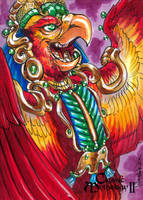 Seven Macaw - Mel Uran by Pernastudios