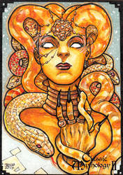 Medusa - Jason Saldajeno by Pernastudios