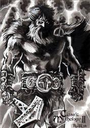 Thor - Mike Rooth by Pernastudios