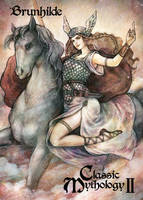 Brunhilde Base Card Art - Juri H. Chinchilla by Pernastudios