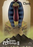 Thoth Base Card Art - Nestor Celario Jr. by Pernastudios