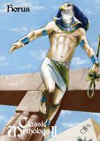 Horus Base Card Art - Gabe Hernandez by Pernastudios