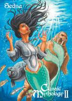Sedna Base Card Art - Eric McConnell by Pernastudios