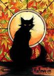 Hallowe'en Sketch Card - Samantha Johnson 2 by Pernastudios