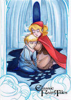 Snow Queen (Kay + Gerda) - Kat Laurange by Pernastudios