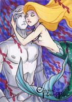 Little Mermaid - Kat Laurange by Pernastudios
