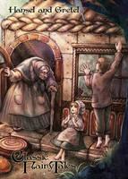 Hansel and Gretel - Juri H. Chinchilla by Pernastudios