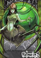 Hallowe'en 2 Sketch Card - Stacey Kardash 3 by Pernastudios