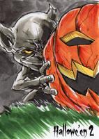 Hallowe'en 2 Sketch Card - Vince Sunico 1 by Pernastudios